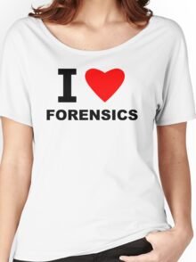 I Love Forensics Women's Relaxed Fit T-Shirt
