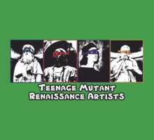 Teenage Mutant Renaissance Artists T-Shirt