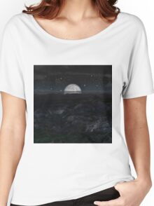 Moon Setting Women's Relaxed Fit T-Shirt