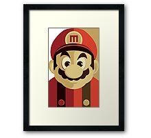 Mario Passport Snap Framed Print