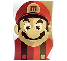 Mario Passport Snap Poster