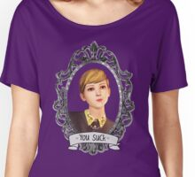 Victoria Portrait (Transparent) - Life is Strange Women's Relaxed Fit T-Shirt