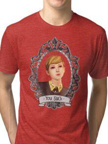 Victoria Portrait (Transparent) - Life is Strange Tri-blend T-Shirt