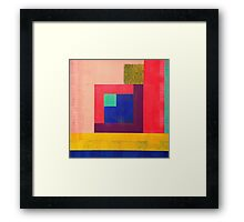 Inside Square Framed Print