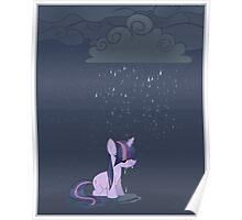 Rainy day pony Poster