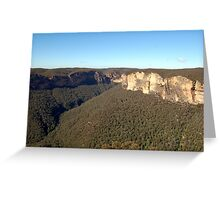 The Blue Mountains Greeting Card