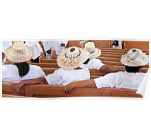 hats in church Poster