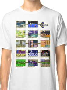 Act 1 - Sonic The Hedgehog Retro Stages Classic T-Shirt