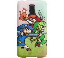 Triforce Heroes Legend of Zelda Samsung Galaxy Case/Skin