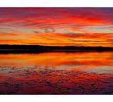 Reflected Sunset Photographic Print