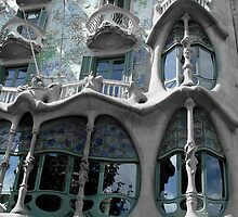 I Love Barcelona 14 by Diana  Kaiani
