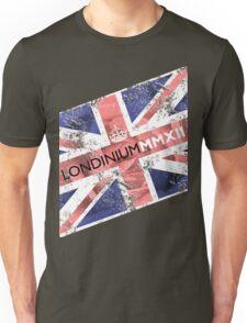 London 2012 - Londinium MMXII Union Jack Rose Unisex T-Shirt