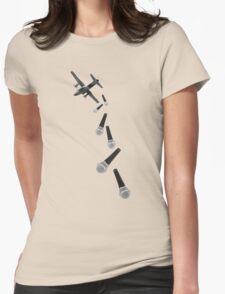 Droppin' Lyrics Womens Fitted T-Shirt