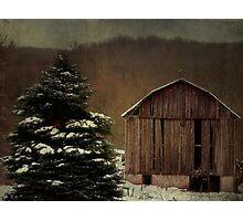 Goodbye to winter Photographic Print