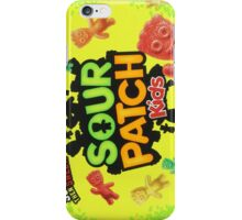 Sour Patch Kids candy package front iPhone Case/Skin