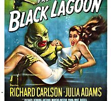 Creature from the Black Lagoon by Robert Partridge
