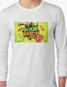 Sour Patch Kids candy package front Long Sleeve T-Shirt