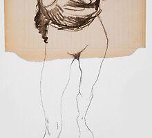 torso (inspiration Egon Schiele) by Loui  Jover