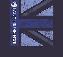 London 2012 - Londinium MMXII Union Jack Blue T-Shirt