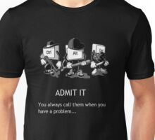 ctrl+alt+del Unisex T-Shirt