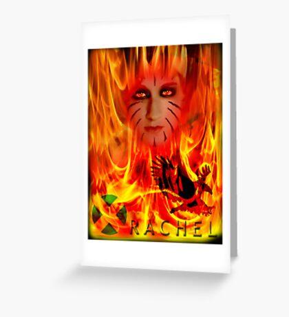 RACHEL SUMMERS UXM the series Greeting Card