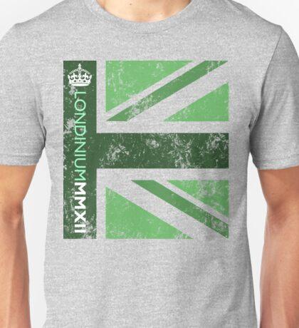 London 2012 - Londinium MMXII Union Jack Green Unisex T-Shirt