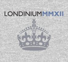 London 2012 - Londinium MMXII Large Crown Kids Tee