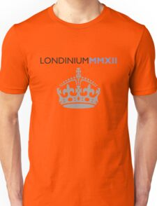 London 2012 - Londinium MMXII Large Crown Unisex T-Shirt
