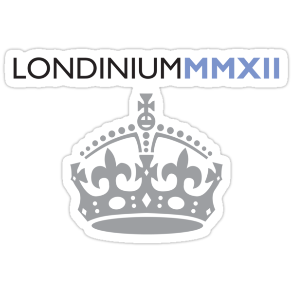 London 2012 - Londinium MMXII Large Crown by Lordy99