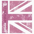 London 2012 - Londinium MMXII Union Jack Pink by Lordy99