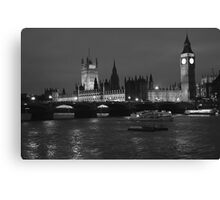 Houses of Parliament London Canvas Print