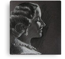 Queen Elizabeth The Queen Mother Canvas Print