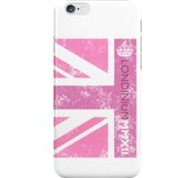 London 2012 - Londinium MMXII Union Jack Pink iPhone Case/Skin