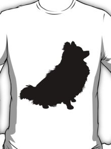 Pomeranian Silhouette T-Shirt