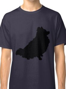Pomeranian Silhouette Classic T-Shirt