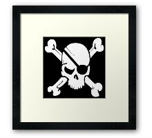 Pirate Flag Framed Print
