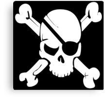 Pirate Flag Canvas Print
