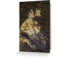 Old Classic Portrait Greeting Card