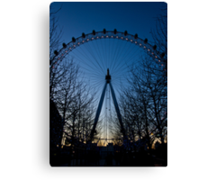 Blue Eye over London Canvas Print