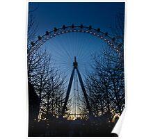 Blue Eye over London Poster