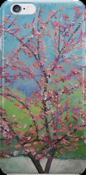 Eastern Redbud Tree by Michael Creese