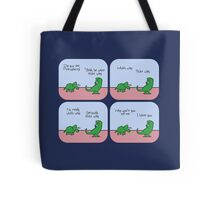 T-Rex Hates Giving Directions Tote Bag