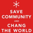Save Community &amp; Chang the World by DesignSyndicate