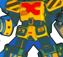 LaserBlade! - Constructor X; Bomberman Generations Sticker