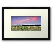 The Grassy Knoll Framed Print