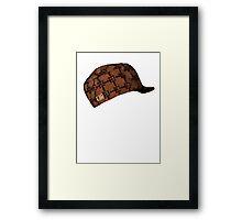 Scumbag steve hat Framed Print