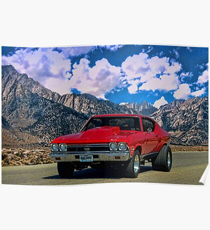 1968 Chevelle SS 396 Poster