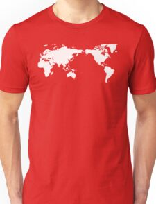 World Map New Zealand Unisex T-Shirt