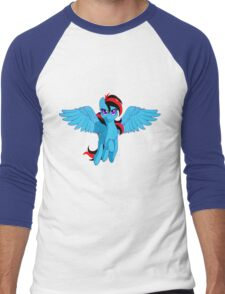 The BronyVille LineUp Hour Men's Baseball ¾ T-Shirt
