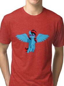 The BronyVille LineUp Hour Tri-blend T-Shirt